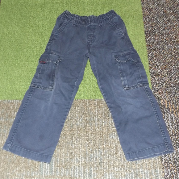 Nice Size 24 Months Faded Glory Solid Black Velour Lounge Sweat Pants Guc Bottoms
